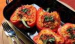 Сладкий перец, фаршированный овощами