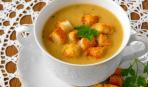 Суп-пюре из чечевицы по-неаполитански