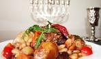 Чолнт с мясом и фасолью по-еврейски