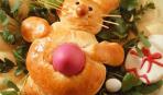 Сдобные булочки «Пасхальные зайчики»