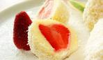 Пасхальный десерт с клубникой