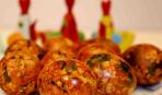 Удивите всех: мраморные яйца на Пасху