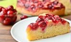 Пирог с вишней на Масленицу