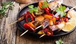 Овощной шашлык по-армянски: пошаговый рецепт