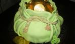 Торт «Мешочек денег»