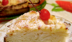 Яблочный пирог с заливкой «Нежный»