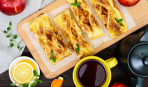 Простой рецепт: слойки «Золотое яблочко»