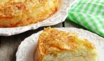 Пирог с рисово-творожной начинкой на Масленицу