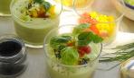 Закуска из авокадо и огурца