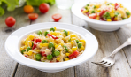 Как вкусно приготовить рис с овощами: 4 простых шага