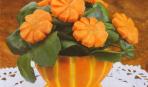 Чаша из апельсина