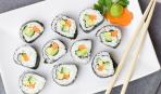 Суши с авокадо и семгой: пошаговый рецепт