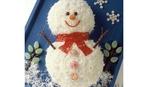 Салат «Веселый снеговик»