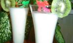 Молочный коктейль с пломбиром