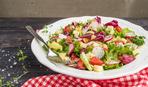 Мятно-огуречный салат с фетой