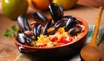 Салат з топінамбуром, паста і кускус з мідіями - три страви за 15 хвилин від Євгена Клопотенка