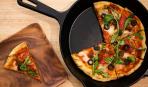 День Святого Валентина: быстрая пицца на сковороде