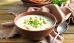 Картофельный суп со сливками и чесноком