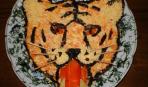 Морковный салат «С годом Тигра!»