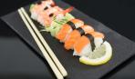 Как подготовить лосось для суши