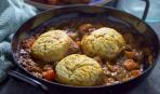 Грибное рагу с хлебными галушками - и ужин заиграет вкусами!