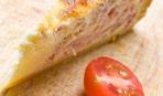 Слоеный пирог с тыквой и беконом