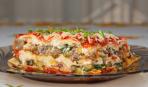 Блюдо дня: овощная лазанья с соусом бешамель