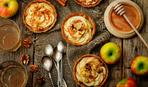 Тарталетки с яблоками по маминому рецепту