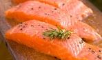 Сладкий маринованный лосось