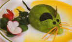 Мышка из авокадо