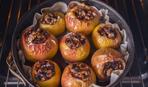 Яблоки фаршированные орехами