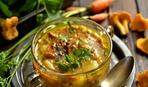 Ленивый грибной суп со сладким перцем: пошаговый рецепт
