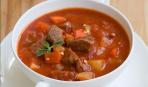 Рецепт венгерского супа из свинного мяса