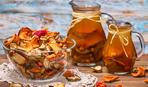 Вкуснейший компот из сухофруктов с апельсином и корицей