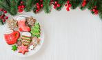 Печенье «Елочки на Новый год»