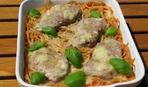Тушеная телятина со спагетти на сытный ужин