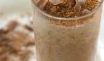 Шоколадно-банановый молочный коктейль
