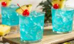 """Для дружеской вечеринки - коктейль """"Голубая лагуна"""""""