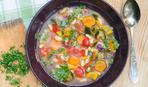 Быстрый овощной суп для детей
