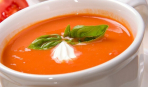 Томатный суп-пюре для похудения