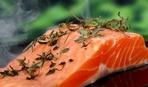 Стейки гриль из лосося на 14 февраля