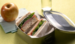 Бутерброд с салями и сыром