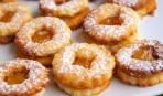 Апельсиново-миндальное песочное печенье