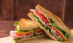 Бутерброды с острой копченой ветчиной