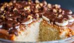 Сладкий пирог со сгущенкой на Масленицу