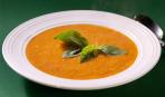 Диетический суп с печеными овощами