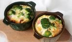 Порционные запеканки с брокколи и сыром чеддер