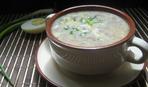 Брюссельский суп с шампиньонами