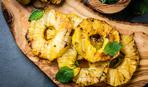 Жареный ананас - изумительная сладость