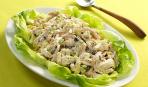 Куриный салат с соусом чатни